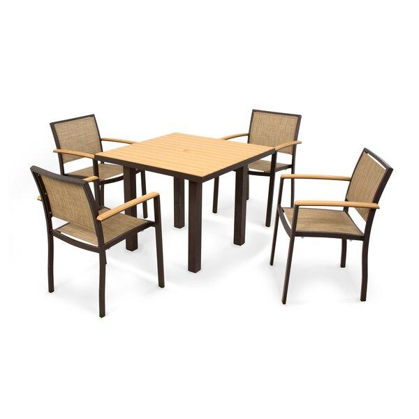 Bayline™ 5 Piece Dining Set by POLYWOOD®