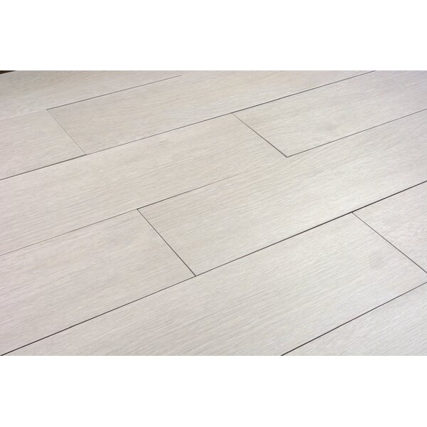 Norway Series 6 x 36 Porcelain Field Tile in Bianco by RD-TILE