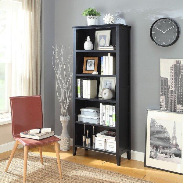 Caspar Large Standard Bookcase By Andover Mills