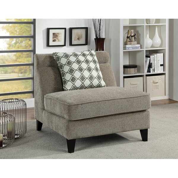 Cromer Slipper Chair by Canora Grey