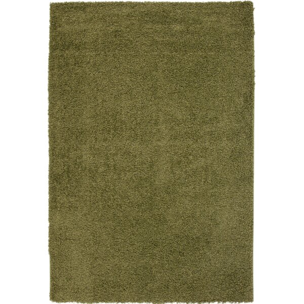 Justine Apple Green Area Rug by Latitude Run