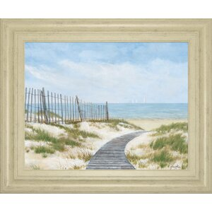 'Breezing Up' by Arnie Fisk Framed Painting Print by Classy Art Wholesalers