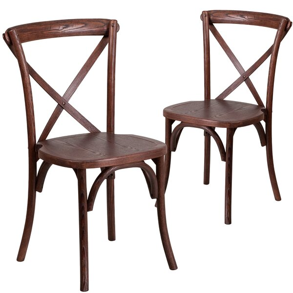 Norma Solid Wood Dining Chair (Set of 2) by Mistana