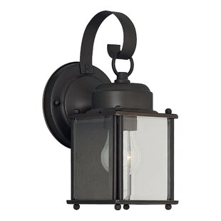 Order Sprague 1-Light Outdoor Wall Lantern By Charlton Home