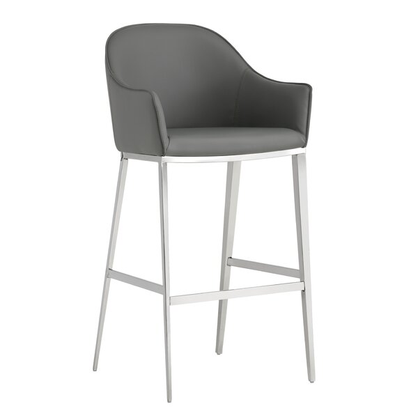Ikon Stanis 30 Bar Stool by Sunpan Modern