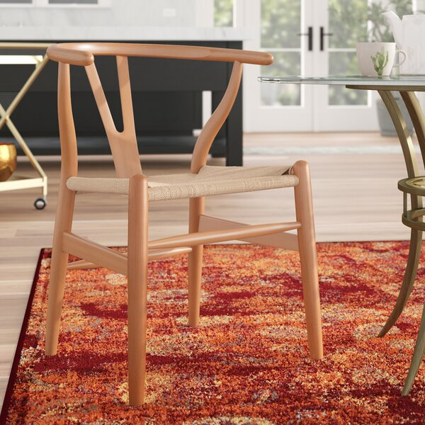 Dayanara Solid Wood Dining Chair (Set Of 2) By Mistana Mistana