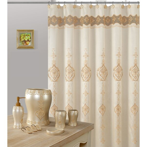 Aspacio Shower Curtain by Astoria Grand