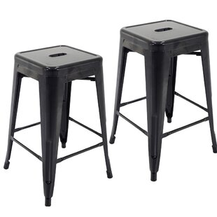 Northwick 24 Bar Stool (Set of 2) by Ebern Designs