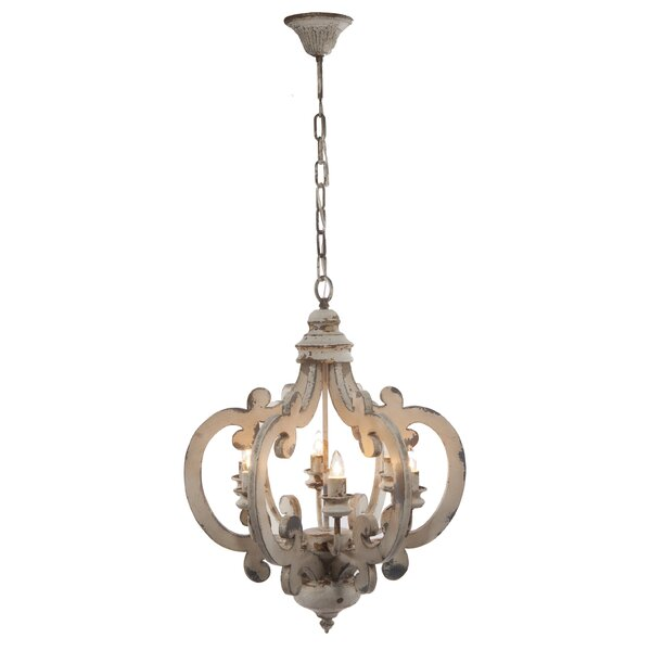 6-Light Foyer Pendant by Lark Manor