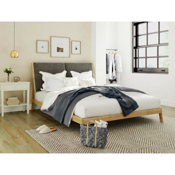 Babcock Queen Upholstered Platform Bed by Union Rustic