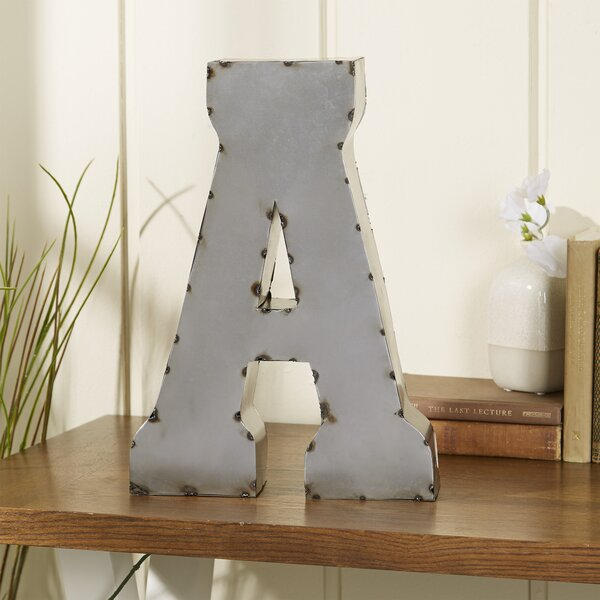 Letter Block by Trent Austin Design