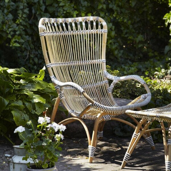 Holder Rattan High Back Patio Chair by Bayou Breeze