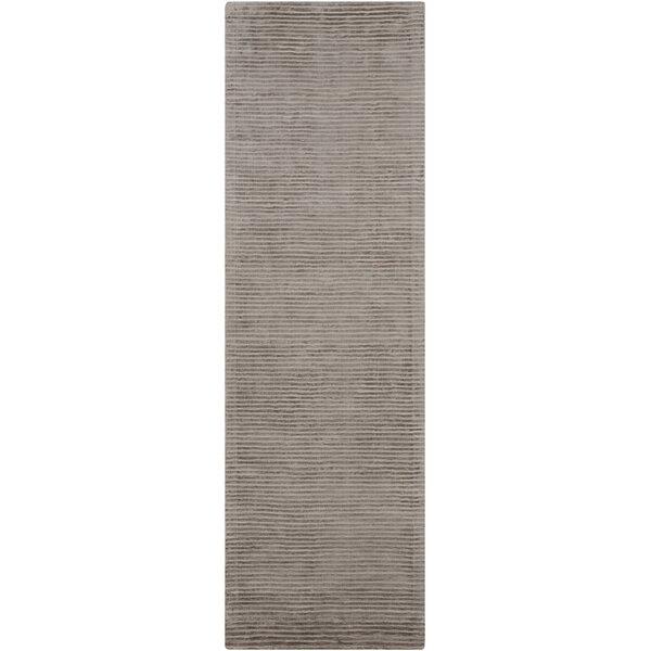 Gemmill Handwoven Medium Gray Area Rug