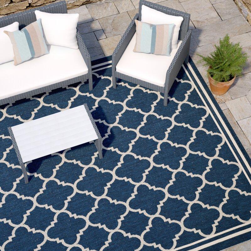 safavieh innen und au enteppich avery in navyblau beige. Black Bedroom Furniture Sets. Home Design Ideas