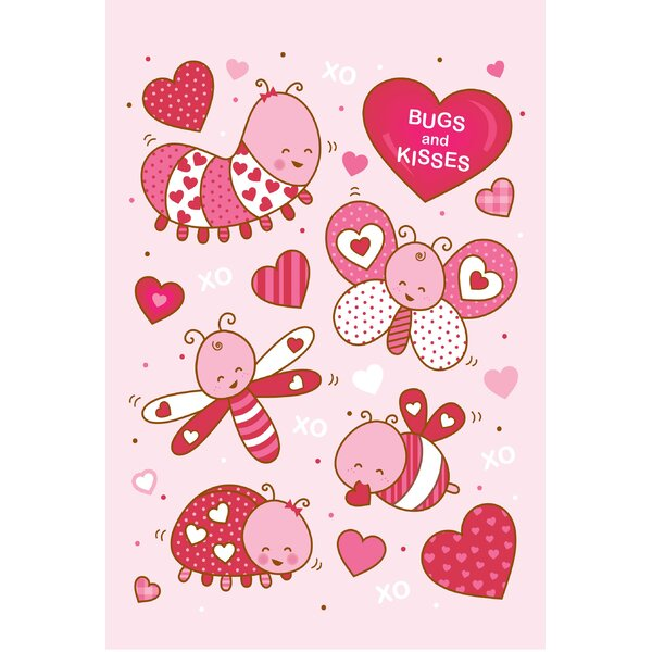 Bugs Kisses Garden Flag by The Cranford Group