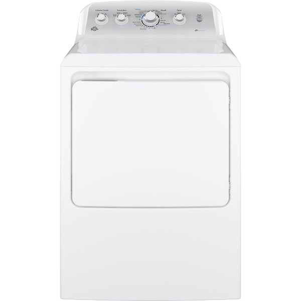7.2 cu. ft. Gas Dryer with Aluminized Alloy Drum and HE Sensor Dry by GE Appliances