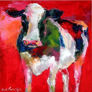 'Cow' Print by East Urban Home