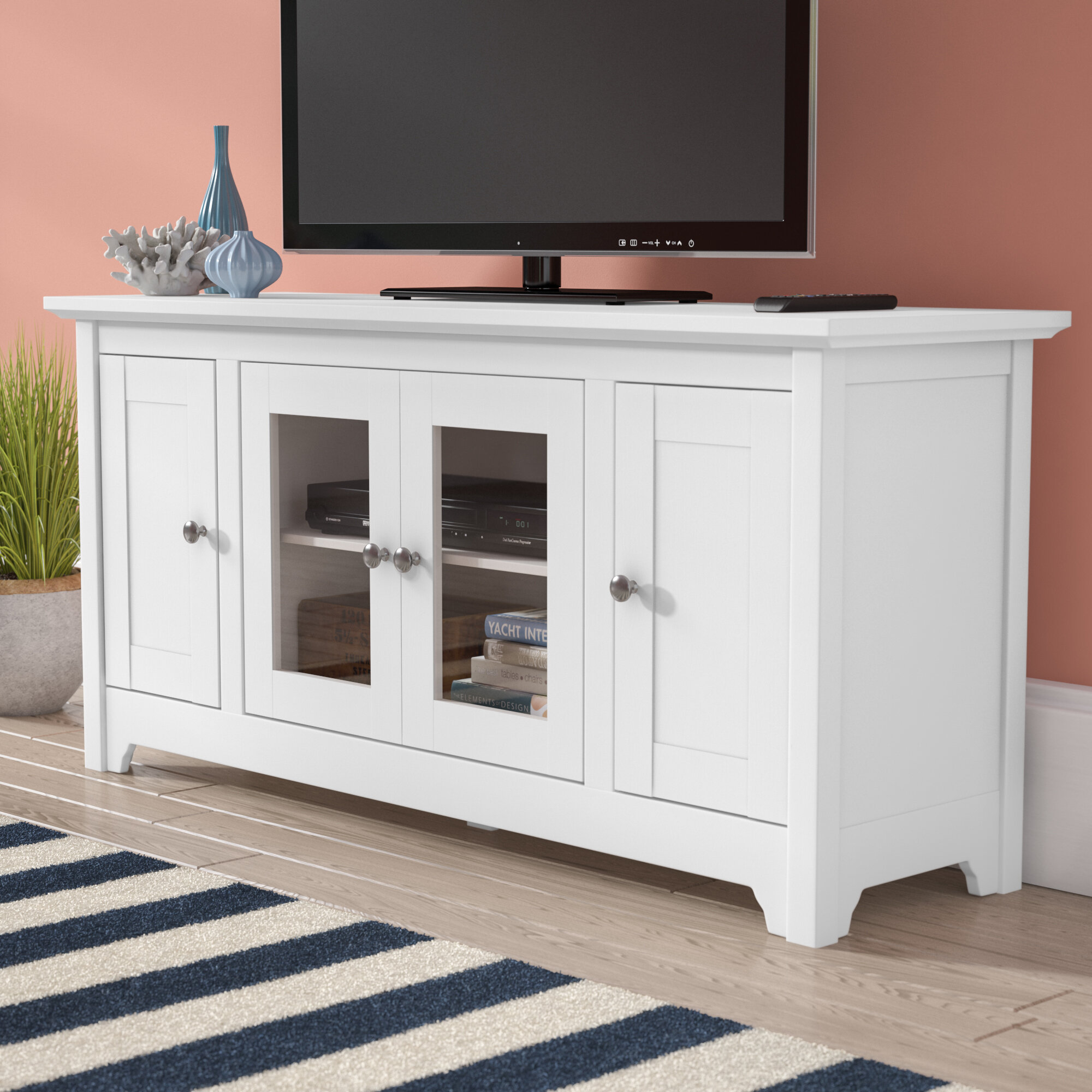 Home Staging Meuble Tv bracamonte tv stand for tvs up to 58""