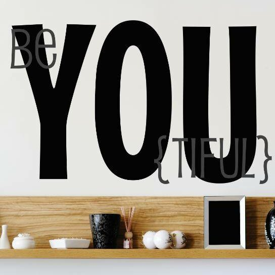 Beyoutiful Wall Decal by Design With Vinyl