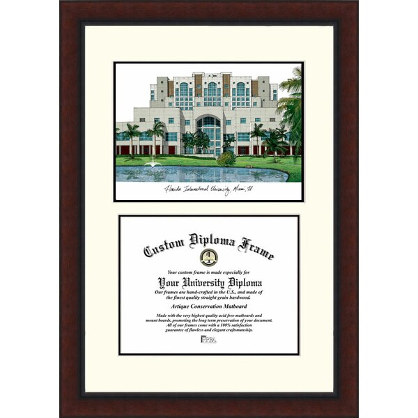 NCAA Florida International University Legacy Scholar Diploma Picture Frame by Campus Images