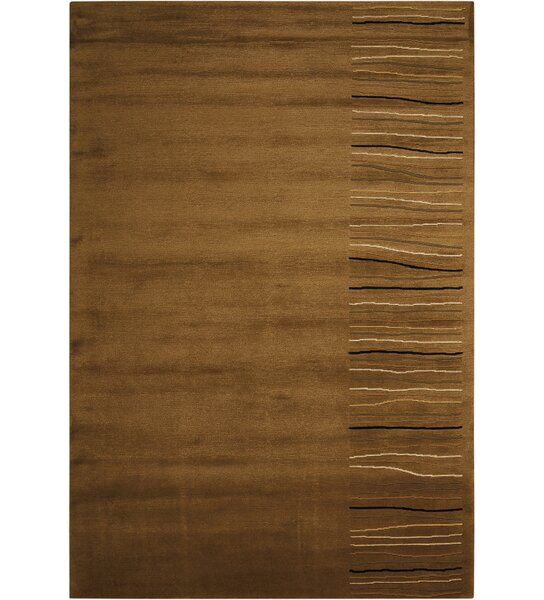 Tibetan Handmade Khaki Area Rug by Calvin Klein