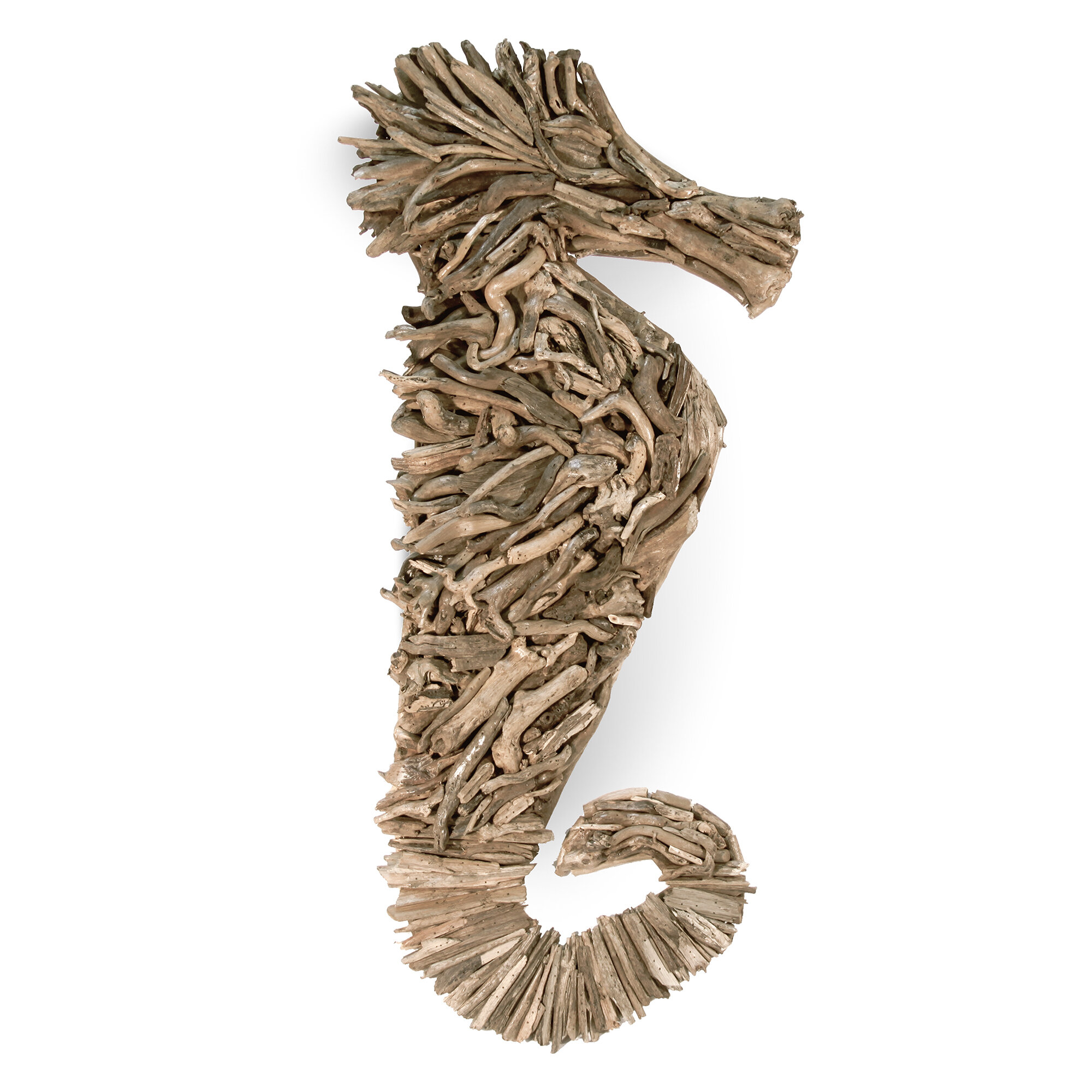 Ibolili Driftwood Seahorse Wall Decor Reviews