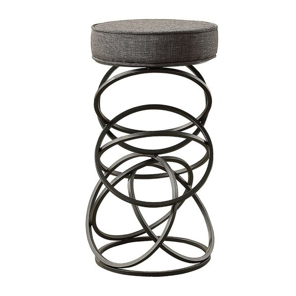 Painter Metal Accent Stool by Benzara