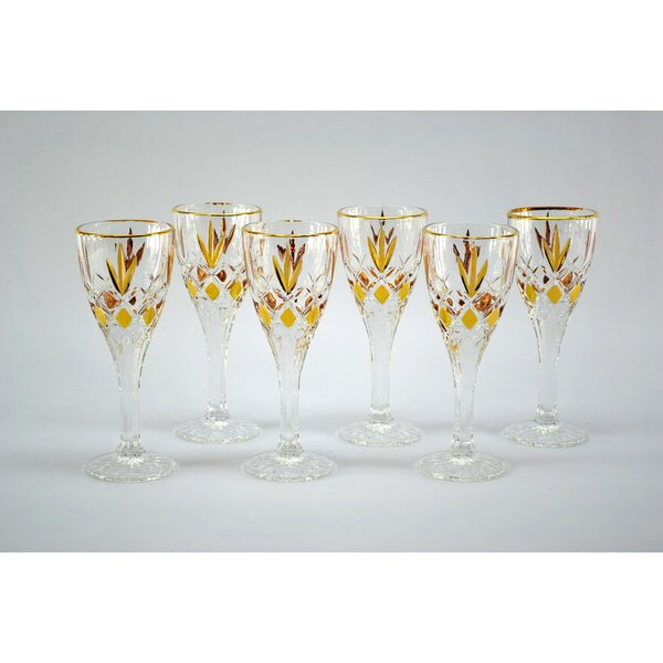 Cordial Shot Glass (Set of 6) by Three Star Im/Ex Inc.