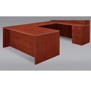 Fairplex Right/Left Executive U-Shape Desk Office Suite by DMI Office Furniture