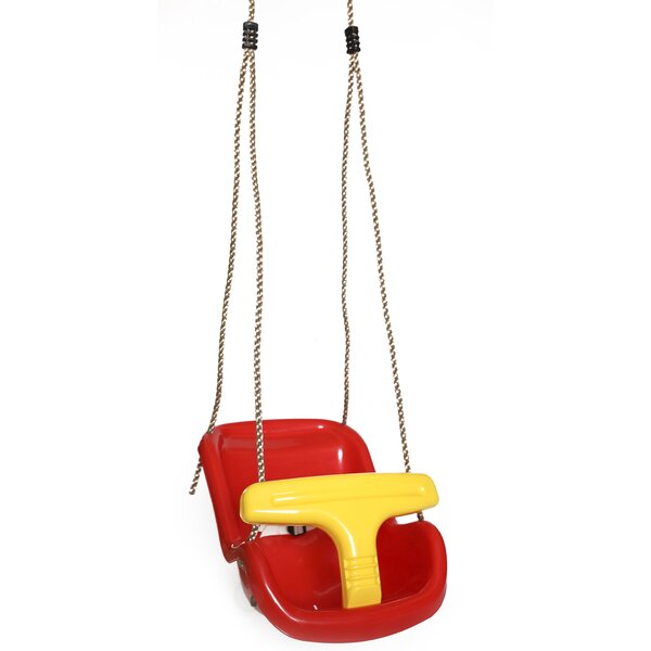 Baby and Toddler Swing Seat with Hanging Ropes by PLAYBERG