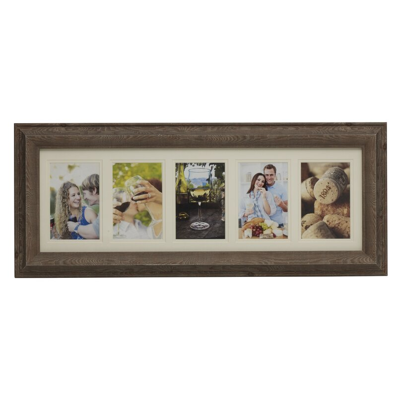 Melannco 5 Opening Plastic Collage Picture Frame Reviews Wayfair