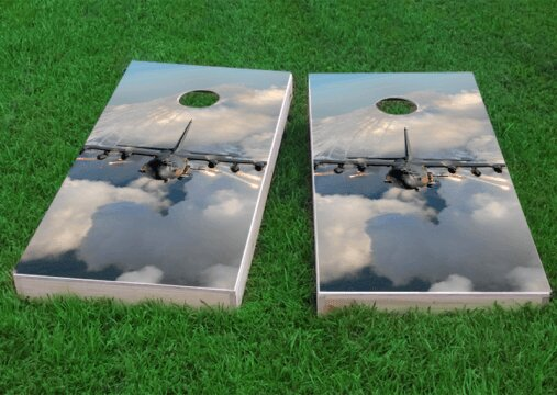 Jet Cornhole Game (Set of 2) by Custom Cornhole Boards