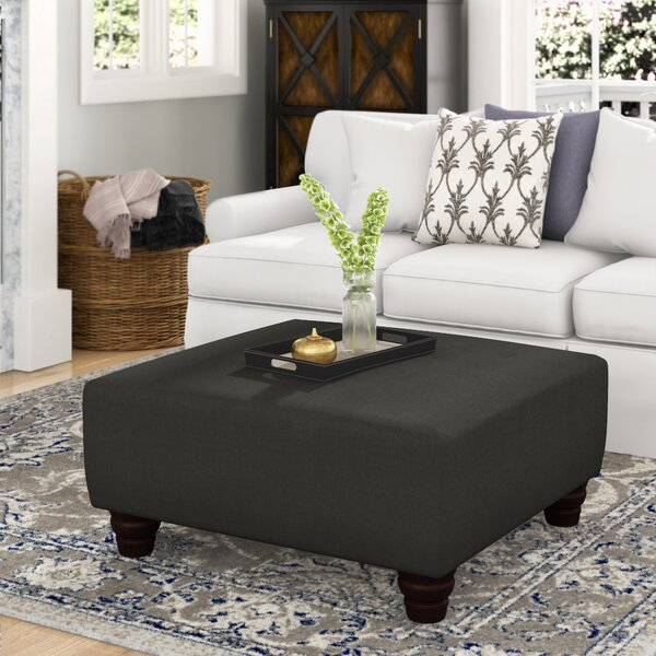Jacksonville Cocktail Ottoman by Alcott Hill