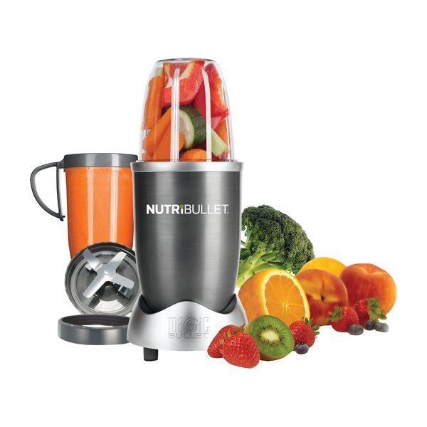 8 Piece Nutri Bullet Set by The Magic Bullet