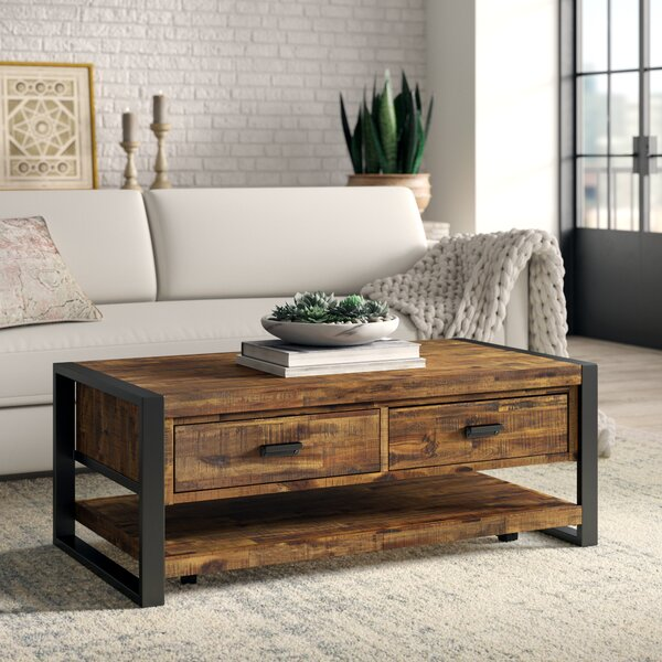 Telfair Coffee Table with Storage by Greyleigh Greyleigh