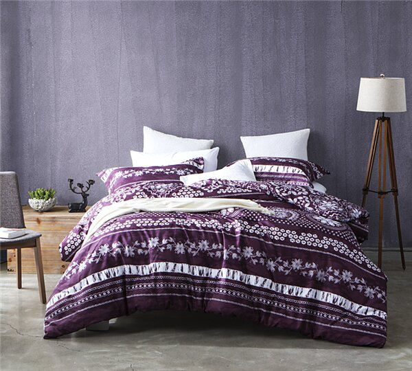 Parley Mulberry Lilac Comforter by Bungalow Rose