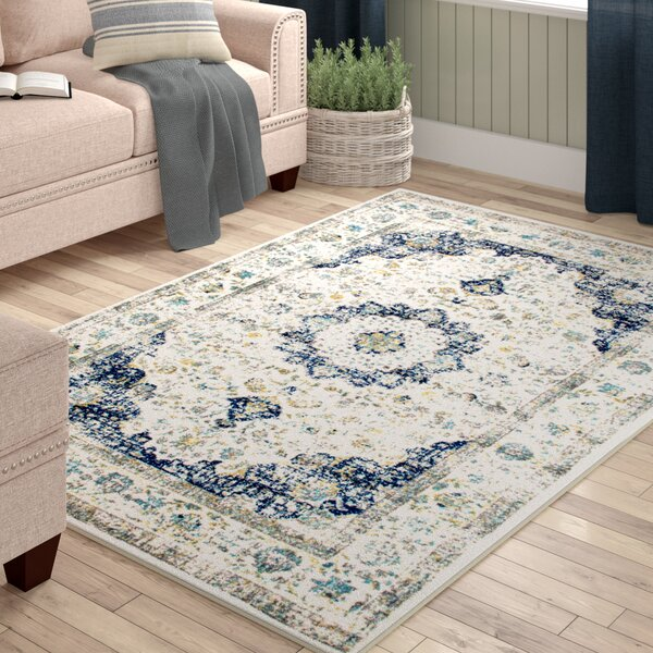 Hosking Doylestown Blue Area Rug by Laurel Foundry Modern Farmhouse