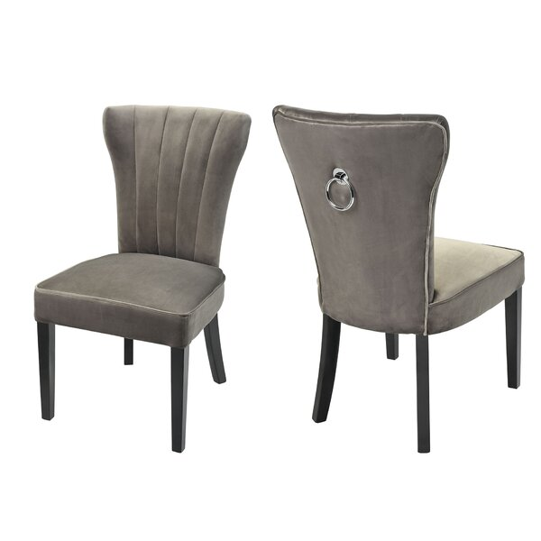 Gilbertown Upholstered Dining Chair by Everly Quinn