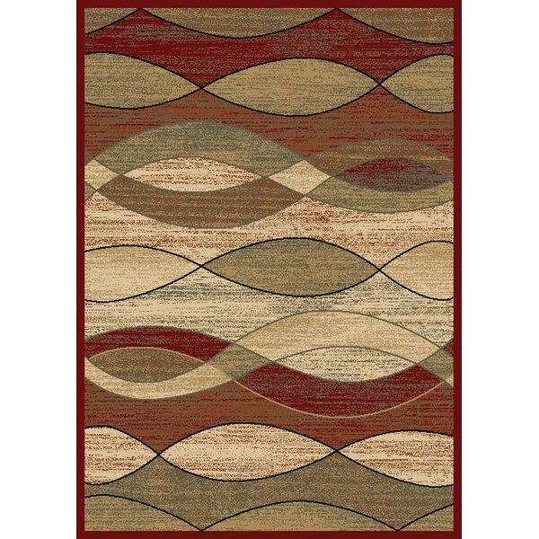 City Surf Claret Area Rug by Mayberry Rug