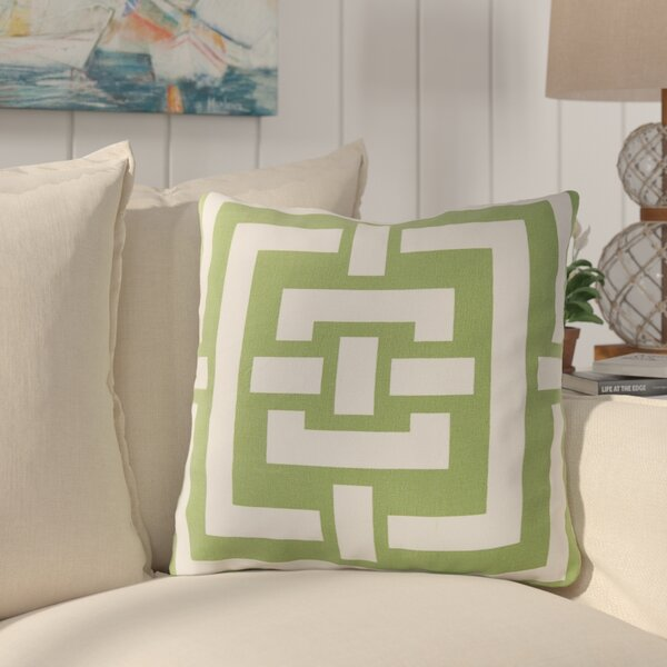 Busti Cotton Throw Pillow by Longshore Tides