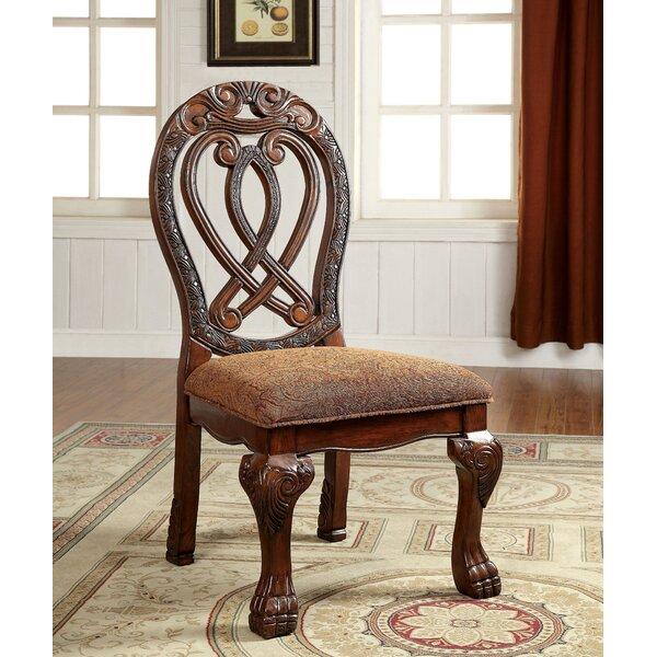 Dolores Formal Upholstered Dining Chair (Set of 2) by Hokku Designs Hokku Designs