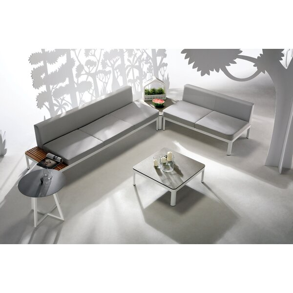 George 5 Piece Sofa Set with Cushions by Wade Logan