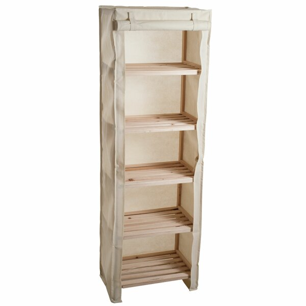 17.63 W x 54.5 H Bathroom Shelf by Lavish Home
