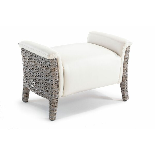 Keper Outdoor Ottoman with Cushion by Brayden Studio