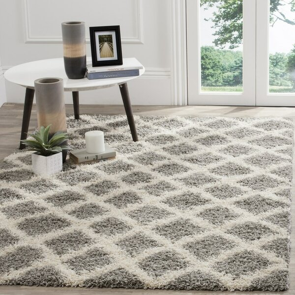 Charmain Gray/Ivory Area Rug by Willa Arlo Interiors
