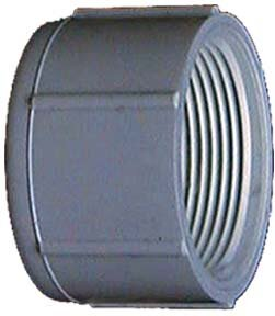 PVC (Schedule 40) Threaded Caps (Set of 10) by GenovaProducts