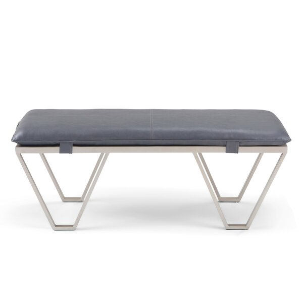 Bourdeau Upholstered Bench by Brayden Studio