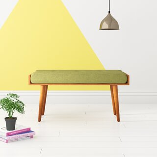 Alaina Upholstered Bench by Hashtag Home SKU:BE758428 Reviews