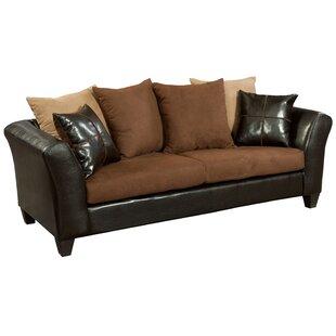 Peachy Dilorenzo Microfiber Sofa Ibusinesslaw Wood Chair Design Ideas Ibusinesslaworg