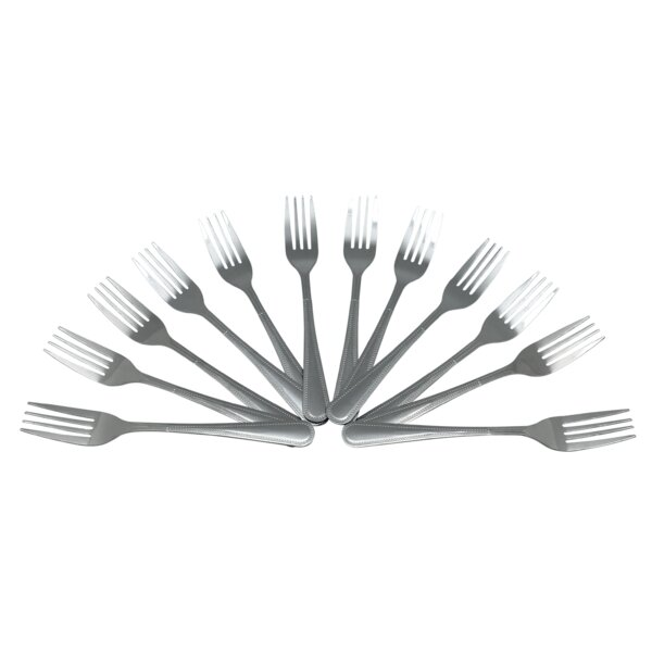 Amedee Dinner Fork Set (Set of 12) by Darby Home Co